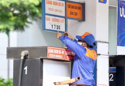 Xuất khẩu dầu thô lượng tăng 26%, giá giảm 14%