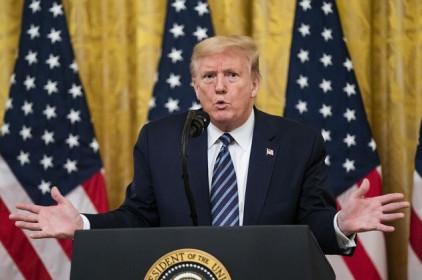 Ông Trump yêu cầu quỹ hưu trí liên bang rút vốn ra khỏi thị trường chứng khoán Trung Quốc