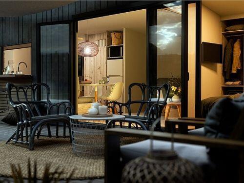 'Nhà nghỉ dưỡng' di động có giá 38.000 USD