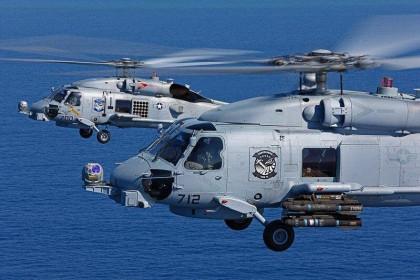 Dè chừng Trung Quốc, Mỹ khẩn trương chuyển giao trực thăng săn ngầm cho Ấn Độ