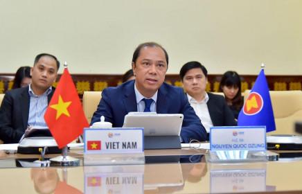 Họp quan chức cấp cao ASEAN triển khai ứng phó dịch Covid-19