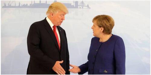 Thủ tướng Đức Merkel từ chối lời mời dự Hội nghị G7 ở Washington