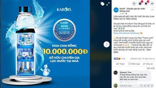 Câu chuyện thú vị đằng sau chai nước nhựa có giá đến 10 triệu đồng