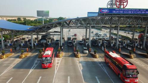 Cao tốc Pháp Vân - Cầu Giẽ thu phí không dừng từ 10.6