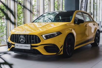 Cận cảnh Mercedes-AMG A45S vừa ra mắt với giá gần 2,5 tỷ