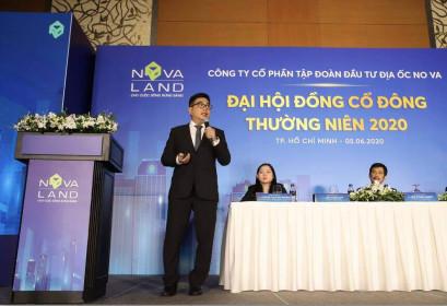 ĐHCĐ Novaland (NVL): Nửa đầu năm đã bán 2.300 sản phẩm, không chia cổ tức 2019