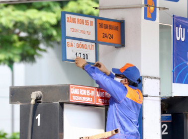 Giá xăng có thể tăng mạnh chiều nay 12.6
