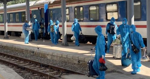Lập riêng tàu hỏa đưa 150 chuyên gia từ Trung Quốc tới Quảng Ngãi