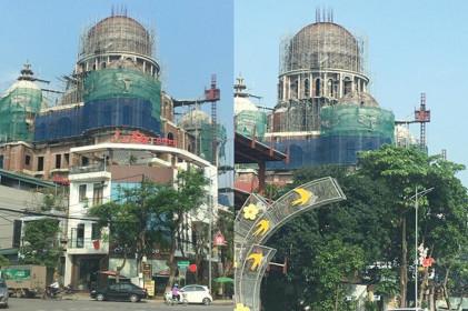 """Biệt thự """"khủng"""" của Cty Hải Linh có dấu hiệu vi phạm trật tự xây dựng?"""