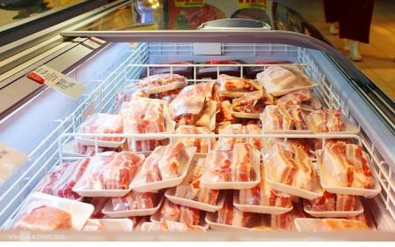 Thịt lợn nhập khẩu:Người mua chưa mặn mà