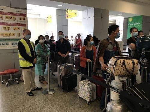 309 công dân Việt Nam từ Angola hạ cánh an toàn tại sân bay quốc tế Vân Đồn