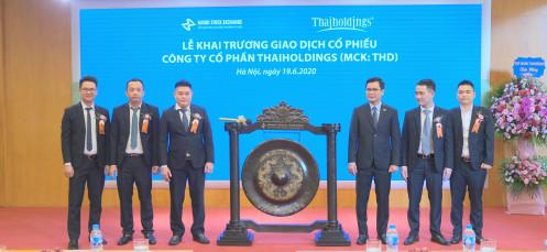 Hơn 53,9 triệu cổ phiếu THD chính thức niêm yết tại HNX