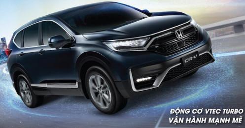 Giảm 50% lệ phí trước bạ, Honda lập tức tung ra CR-V bản lắp ráp