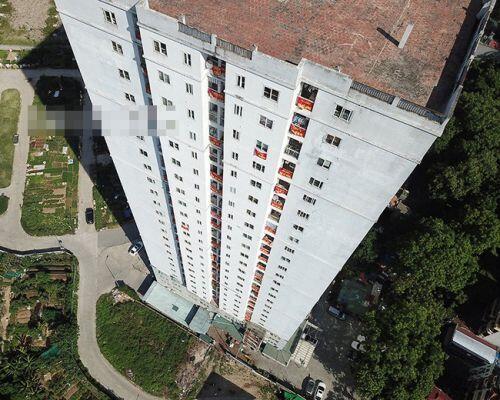 Cận cảnh chung cư 24 tầng chưa được giao đất đã bán cho dân về ở