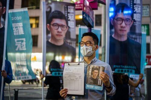 """Tương lai """"ngã tư quốc tế"""" Hong Kong bên bờ sụp đổ"""