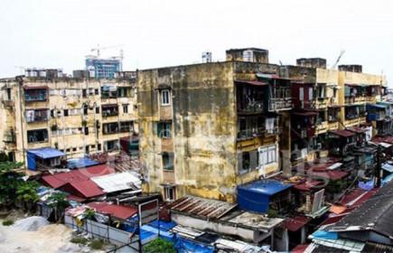 Cải tạo chung cư cũ: Coi chừng đất vàng bị đánh cắp