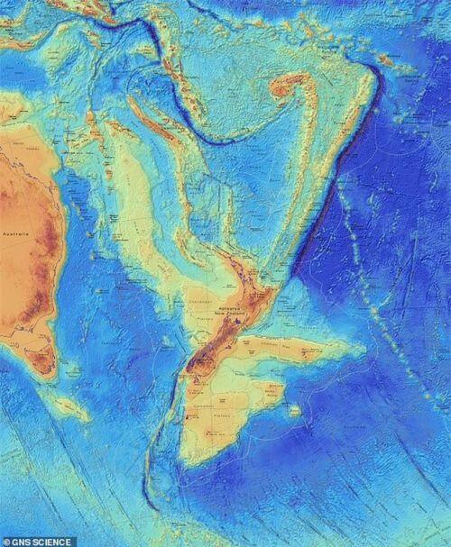 Sốc: Đã tìm thấy lục địa thứ 8 của Trái Đất