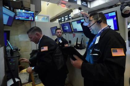 Đà bán tháo cổ phiếu xuất hiện trở lại, chứng khoán Mỹ đứt mạch thăng hoa