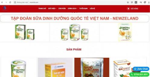 """Cty Việt Nam New Zealand thừa nhận quảng cáo """"láo"""" sữa Đông Trùng Hạ Thảo Hồng Sâm Ngọc?"""