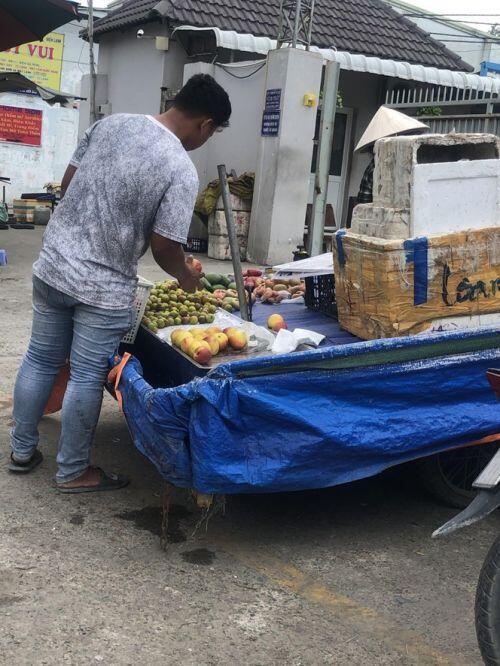 Đào Trung Quốc ngập chợ Sài Gòn