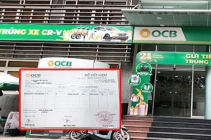 Thực hư vụ sổ tiết kiệm giả ở OCB