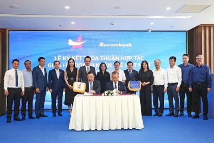 Sacombank và Hội Doanh nhân trẻ Việt Nam ký hợp tác