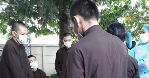Long An cách ly 19 người ở 'Tịnh thất Bồng Lai'