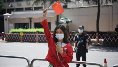 Trung Quốc tuyên bố tiếp quản lãnh sự quán Mỹ ở Thành Đô