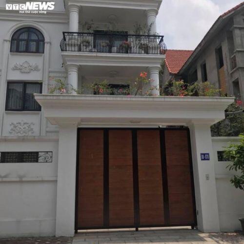 Cận cảnh nhiều biệt thự 'khủng' xây sai phép tại khu đô thị Vân Canh
