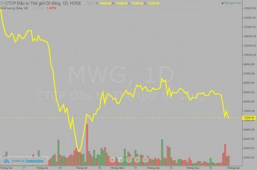 Khối ngoại sang tay hơn 2 triệu cổ phiếu MWG, quỹ tỷ đô Arisaig vẫn miệt mài gom