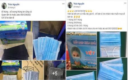 """Ca nghi nhiễm Covid-19 ở Hà Nội: Giá khẩu trang """"sốt"""" theo từng giờ, có nơi """"hét"""" tới 6 triệu đồng/thùng"""