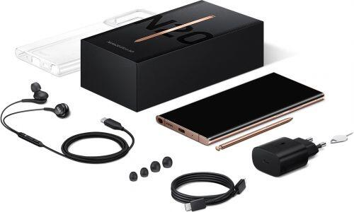 Bắt chước Apple, Samsung cắt giảm phụ kiện trong hộp của Galaxy Note20 Ultra