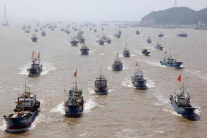 Hàng nghìn tàu cá của Trung Quốc chuẩn bị ùa ra Biển Đông