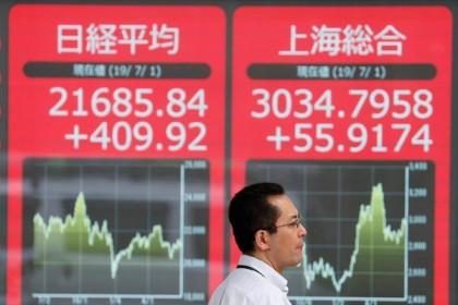 Nhà đầu tư theo dõi quan hệ Trung Quốc - Australia, chứng khoán châu Á trái chiều