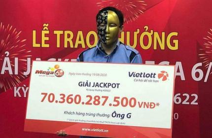 Nam thanh niên sinh năm 1994 trúng giải Jackpot hơn 70 tỷ nhờ được 'báo mộng'