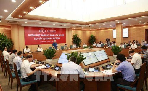 Bí thư Thành ủy Vương Đình Huệ: Đẩy mạnh phát triển các khu đô thị văn minh, hiện đại