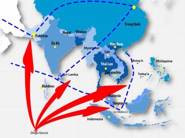 Với 'tàu sân bay không thể chìm', Mỹ sẵn sàng đánh chặn Trung Quốc