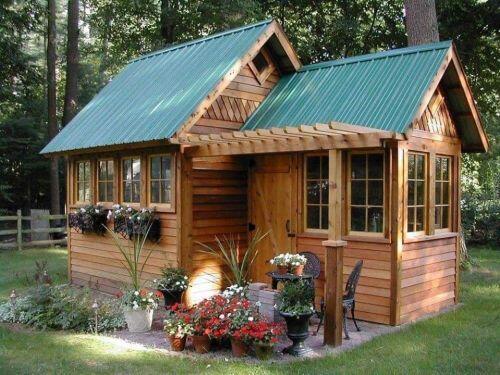 Rộ mốt làm nhà vườn gỗ độc đáo, ấm cúng và gần gũi với thiên nhiên