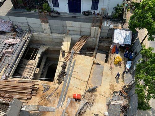 Xôn xao nhà ở riêng lẻ ở Hà Nội được cấp phép đến 4 tầng hầm
