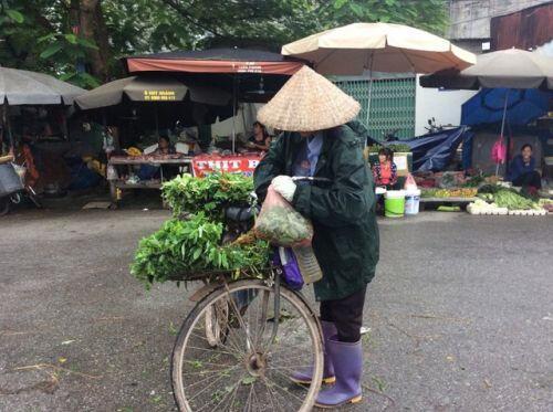"""Hà Nội: Giá thịt lợn giảm, rau xanh tăng """"chóng mặt"""" vì mưa"""