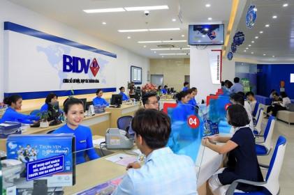BIDV đã phát hành 1,867 tỷ đồng trái phiếu trong tháng 8