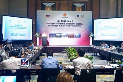 Tham vấn ý kiến lập Quy hoạch tổng thể năng lượng quốc gia 2021-2030