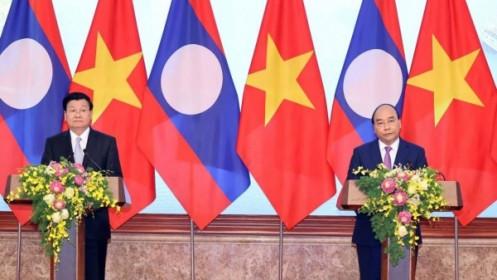 Thủ tướng Nguyễn Xuân Phúc: Kỳ họp Chính phủ Việt Nam-Lào đạt kết quả chưa từng có