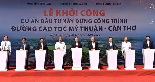 Cao tốc Mỹ Thuận - Cần Thơ với tổng vốn đầu tư hơn 4.800 tỷ sẽ hoàn thành vào năm 2022