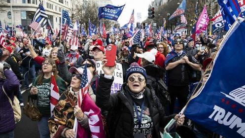 Thủ đô Washington DC cảnh giác, phát cảnh báo người dân sau lời kêu gọi của Tổng thống Trump