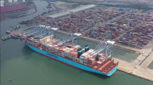 Các cảng biển VIMC đón những tấn hàng đầu năm 2021