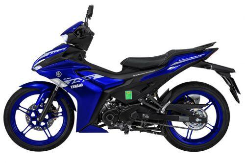 Ngắm Yamaha Exciter 155 VVA màu xanh GP, giá 50,49 triệu đồng