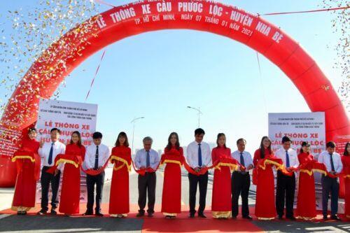 Thông xe cầu hơn 400 tỉ đồng phía Nam TP.HCM