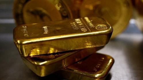 Giá vàng rớt thêm 350.000 đồng/lượng