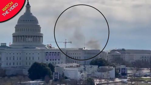 Tòa nhà quốc hội Mỹ phong tỏa mọi ngả vì mối đe dọa an ninh bên ngoài